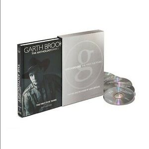 Garth Brooks The First Five Years Book and CDs